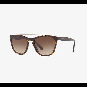Valentino Tortoise Sunglasses